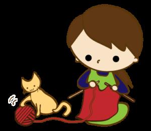 なごみさん編み物